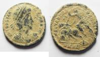 Ancient Coins - AS FOUND. CONSTANTIUS II AE CENT.