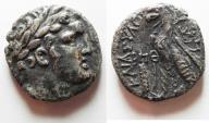 Ancient Coins - An extremely rare date. : Phoenicia, Tyre. AR shekel (23mm, 12.51g). Struck in civic year 189 (AD 63/4).