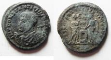 Ancient Coins - ROMAN IMPERIAL. Constantine I (AD 307/310-337). Argenteus (?). AR argenteus (18mm, 2.57g). Treveri mint. Struck AD 318-319.
