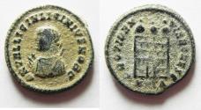 Ancient Coins - ORIGINAL DESERT PATINA: LICINIUS II AE 3
