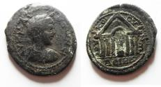 Ancient Coins - DECAPOLIS, Dium. Geta. As Caesar, AD 198-209. Æ 28