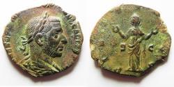 Ancient Coins - Trebonianus Gallus, , Æ Sestertius
