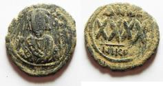 Ancient Coins - BYZANTINE. Phocas 602-610, AE Follis, Nicomedia