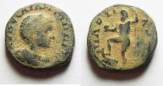 Ancient Coins - ARABIA, Rabbathmoba. Elagabalus. AD 218-222. Æ 20