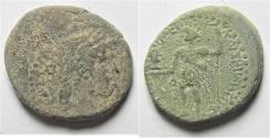 Ancient Coins - Judaea. Caesarea Maritima under Nero (AD 54-68). AE 24mm, 10.40g. Struck in regnal year 14 (AD 68/9).