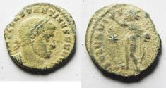 Ancient Coins - AS FOUND. CONSTANTINE I AE FOLLIS