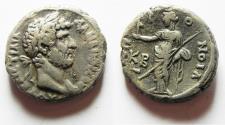 Ancient Coins - EGYPT. ALEXANDRIA . HADRIAN BILLON TETRADARCHM