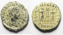 Ancient Coins - AS FOUND. CONSTANTINE II AE 3 . ALEXANDRIA MINT