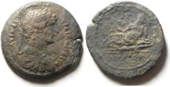 Ancient Coins - EGYPT , ALEXANDRIA AE DRACHM OF HADRIAN