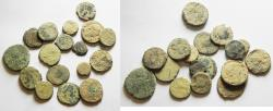 Ancient Coins - AS FOUND: LOT OF 17 ROMAN BRONZE COINS