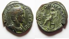 Ancient Coins - Otacilia Severa, wife of Philip I 244-249 A.D. Sestertius Rome Mint