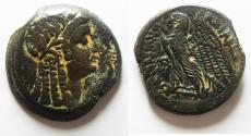Ancient Coins - PTOLEMAIC KINGS of EGYPT. Ptolemy V Epiphanes. 204-180 BC. Æ 27. Alexandreia mint.