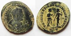 Ancient Coins - ROMAN IMPERIAL. Diocletian (AD 284-305). Ticinum mint. Struck c. AD 305. AE follis