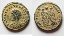 Ancient Coins - CONSTANTIUS II AE 3 . BEAUTIFUL AS FOUND