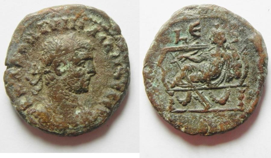 Ancient Coins - EGYPT, Alexandria. Aurelian. Tetradrachm
