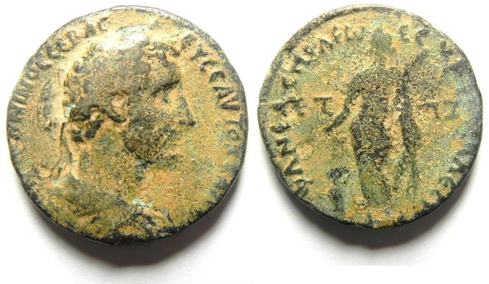 Ancient Coins - Roman Provincial. Judaea. Neapolis under Antoninus Pius, AD 138-161. AE 31mm , very rare!!!