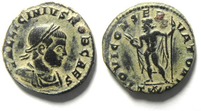 Ancient Coins - BEAUTIFULL LICINIUS II AE 3