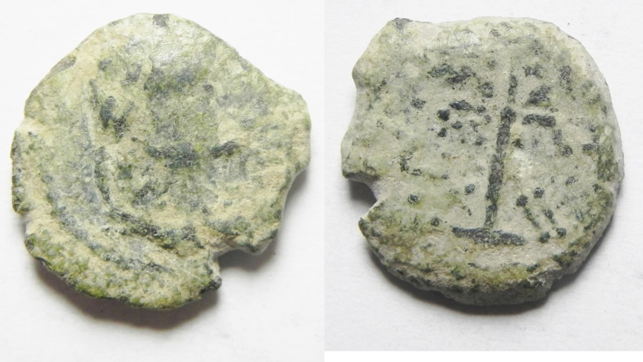 Ancient Coins - PHOENCIA , TYRE , 1ST CENT. B.C AE 13