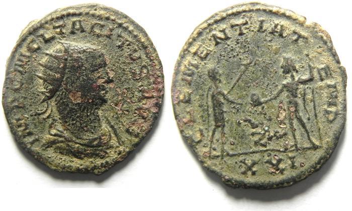 Ancient Coins - TACITUS ANTONINIANUS