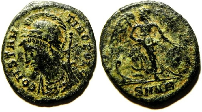 Ancient Coins - CONSTANTINE I AE 3 , COMMEMORATIVE COIN