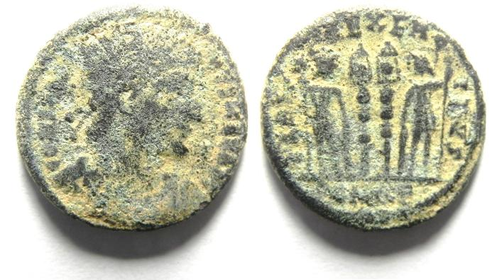 Ancient Coins - CONSTANTINE I AE 3 AS FOUND