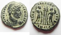 Ancient Coins - CONSTANTINE I AE 3 . ALEXANDRIA MINT