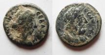 Ancient Coins - DECAPOLIS. GADARA. CRISPINA AE 20