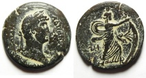 Ancient Coins - Egypt. Alexandria under Hadrian (AD 117-138). AE drachm. Struck in regnal year 18 (AD 133/4).