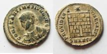 Ancient Coins - AS FOUND CONSTANTINE II AE 3 . ANTIOCH MINT