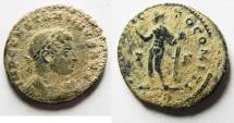 Ancient Coins - AS FOUND: CONSTANTINE I THE GREAT AE FOLLIS