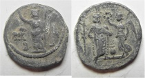 Ancient Coins - Egypt. Alexandria. Second-third centuries AD. Lead tessera (20mm, 3.66g).