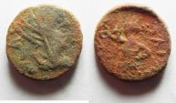 Ancient Coins - JUDAEA, Ascalon. Faustina Senior? AE 16