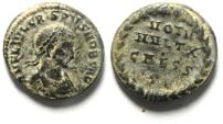 Ancient Coins - CRISPUS AE 3 , NICE AS FOUND