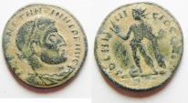 Ancient Coins - CONSTANTINE I AE FOLLIS. DESERT PATINA