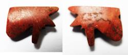 Ancient Coins - ANCIENT EGYPT . NEW KINGDOM RED JASPER EYE OF HORUS. 1400 B.C
