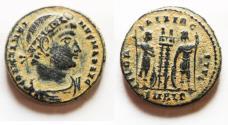 Ancient Coins - ORIGINAL DESERT PATINA: CONSTANTINE I AE 3