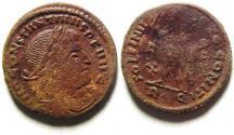 Ancient Coins - CONSTANTINE I AE FOLLIS, ROME