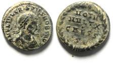Ancient Coins - CRISPUS AE 3 , NICE AS FOUND