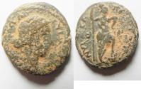 Ancient Coins - Judaea. Nysa-Scythopolis under Lucilla (AD 164-182). AE 23mm, 7.52g. Struck in civic era year 239 (AD 175/6).