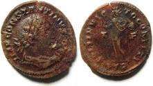 Ancient Coins - LARGE CONSTANTINEI AE FOLLIS, TRIER MINT