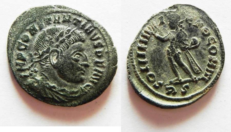 Ancient Coins - CONSTANTINE I AE FOLLIS. ROME MINT
