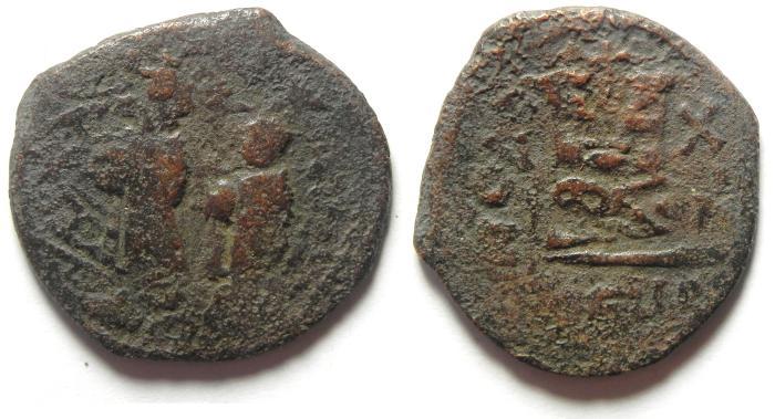 Ancient Coins - BYZANTINE : HERACLIUS FOLLIS