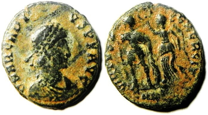 Ancient Coins - ARCADIUS AE 3