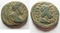 Ancient Coins - Judaea. Aelia Capitolina under Antoninus Pius (AD 138-161). AE 23mm, 7.38g.