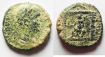Ancient Coins - AS FOUND: ARABIA. PETRA. SEPTIMIUS SEVERUS AE 21