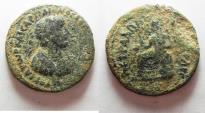Ancient Coins - AS FOUND: 	ARABIA. PETRA. HADRIAN AE 28
