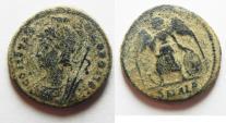 Ancient Coins - CONSTANTINE I AE 3 . COMMEMORATIVE, NICE DESERT PATINA. ALEXANDRIA
