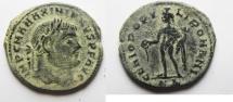 Ancient Coins - MAXIMIANUS AE FOLLIS. NICE ORIGINAL PATINA