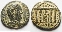 Ancient Coins - Syria, Decapolis.  Gadara under Caracalla (AD 198-217). AE 26mm, 11.43g.