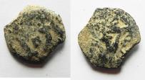 Ancient Coins - JUDAEA. HEROD I THE GREAT AE PRUTAH